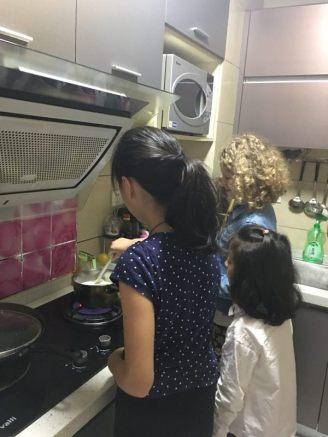 frühstückzubereitung